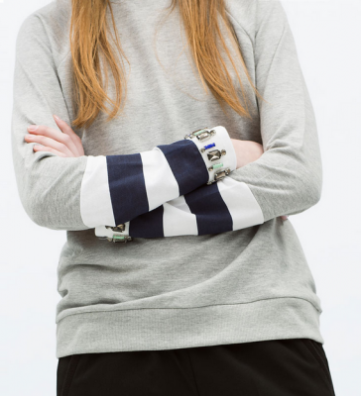 Sweatshirt ~ Zara