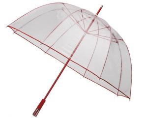 Implivia doorzichtige paraplu