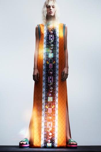Maxi Dress ~ Orange