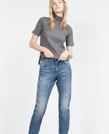 Zara Jeans Straight Leg