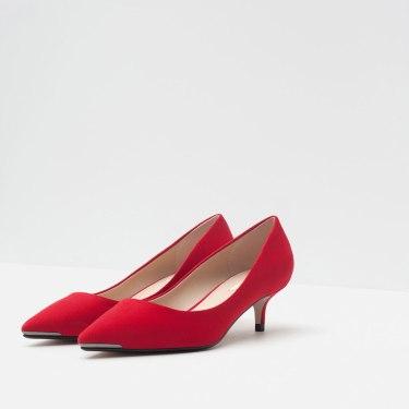 Zara Kitten Heel
