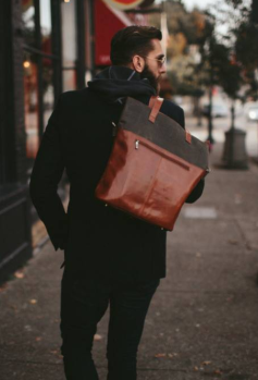 Brown and Olive Bag 2