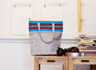 Grey Aztec Bag 3