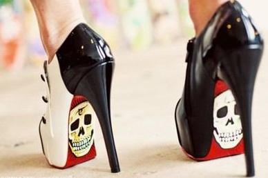 Skull Heel
