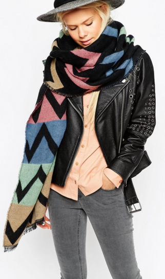 Asos Colors Scarf